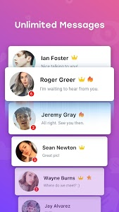 screenshot of InMessage - Chat, meet, dating version 2.9.1