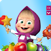 Download Masha and The Bear Jam Day Match 3 games for kids 1.5.19 APK