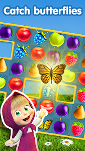 Download Masha and The Bear Jam Day Match 3 games for kids 1.4.99 APK