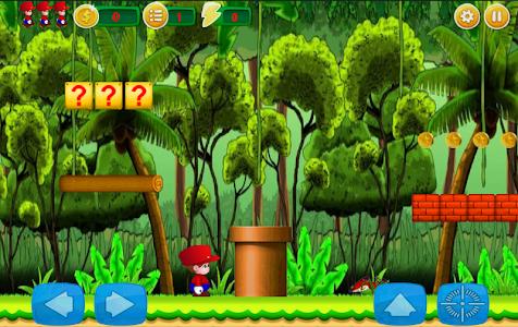 screenshot of Jungle World of Mark version 1.1