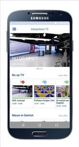 screenshot of KPN Interactieve TV version Varies with device