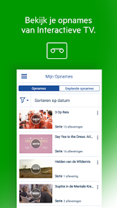 screenshot of KPN Interactieve TV version 5.4.1