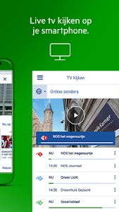 screenshot of KPN Interactieve TV version 5.6.1