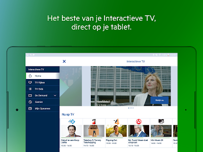 screenshot of KPN Interactieve TV version 5.4.0