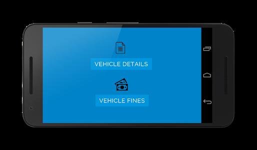 screenshot of Karnataka Vehicle details version 1.10
