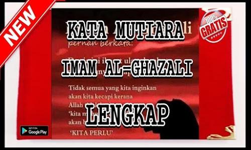 Download Kata Mutiara Imam Al Ghazali Edisi Terlengkap 2 4 Apk