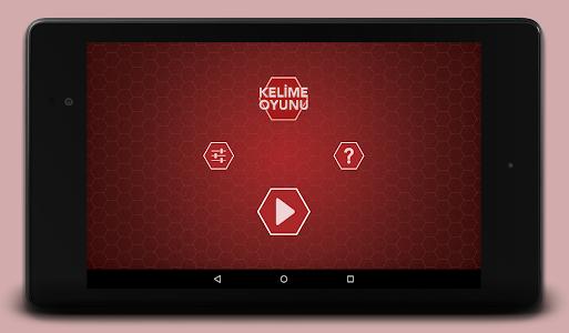screenshot of Kelime Oyunu version 2.10
