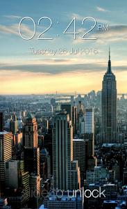 screenshot of Keypad Lock Screen version 1.35