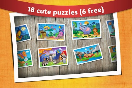 screenshot of Kids Animals Jigsaw Puzzles  version 9.7