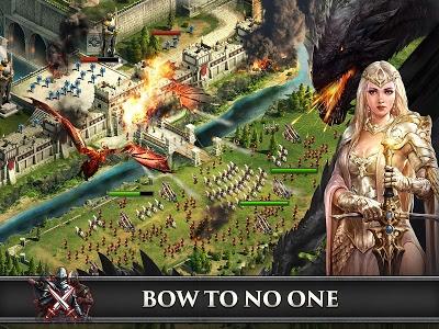 screenshot of King of Avalon: Dragon Warfare version 2.1.0