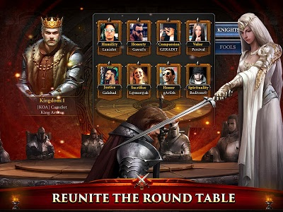 screenshot of King of Avalon: Dragon Warfare version 1.6.1