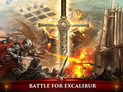 screenshot of King of Avalon: Dragon Warfare version 1.9.0