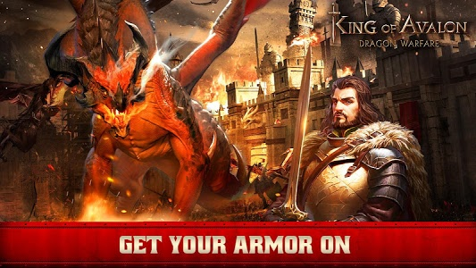 screenshot of King of Avalon: Dragon Warfare version 1.1.0