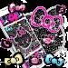 Download Kitty Black Diamond Bowknot Sweet Princess Theme 1.1.4 APK