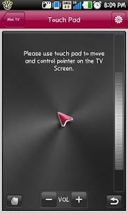 screenshot of LG TV Remote version 5.4