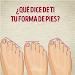 Download La forma de tus pies significa 1.0 APK