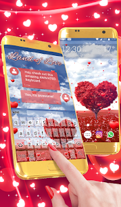 Download Land of Love Animated Keyboard 2.09 APK