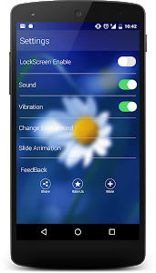 screenshot of Launcher for iPhone 7 version 1.1
