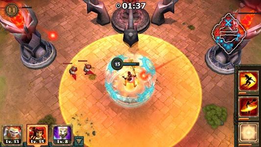 screenshot of Legendary Heroes MOBA version 2.3.74