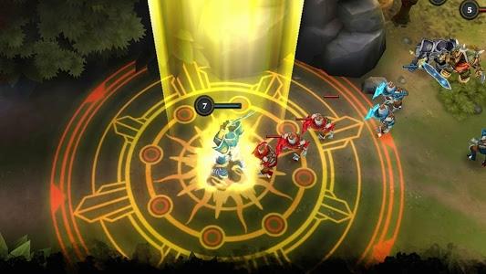 screenshot of Legendary Heroes MOBA version 2.3.71