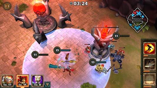 screenshot of Legendary Heroes MOBA version 3.0.38