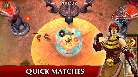 screenshot of Legendary Heroes MOBA version 2.3.76