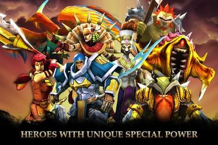 screenshot of Legendary Heroes version 1.9.5