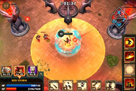 screenshot of Legendary Heroes version 2.0.2