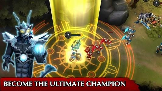 screenshot of Legendary Heroes MOBA version 3.0.26