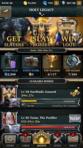 screenshot of Legendary: Game of Heroes version 1.7.9