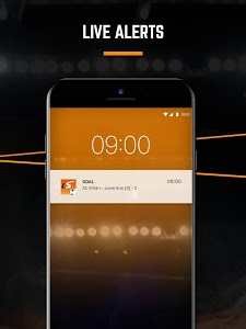 screenshot of LiveScore: Live Sport Updates version Varies with device