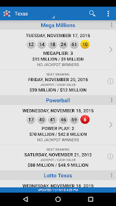 Download Lotto Results - Mega Millions Powerball Lottery US 2.0.3 APK