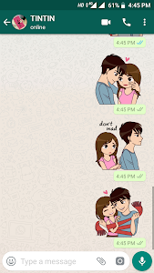 screenshot of Love Sticker Packs For WhatsApp - WAStickerApps version 1.0