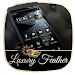 Download Luxury Black Feather Theme 1.1.6 APK