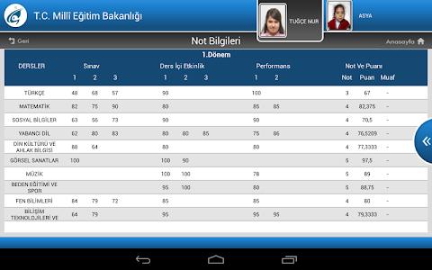 screenshot of MEB E-OKUL VBS version 1.2.3