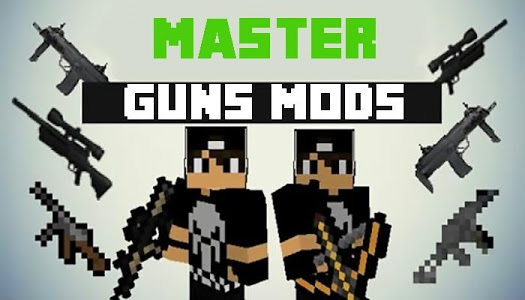 Download Master Guns Mod For MCPE 1.2 APK