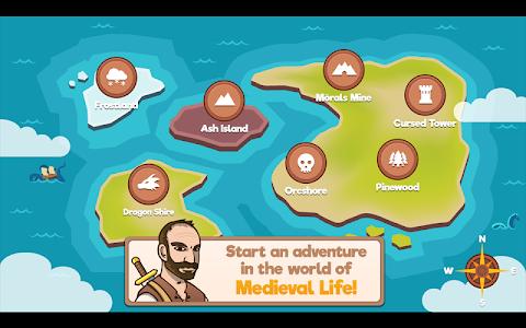 screenshot of Medieval Life version 1.1