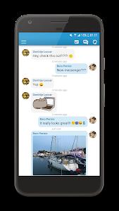 screenshot of Inbox Messenger Lite version 6.4.2