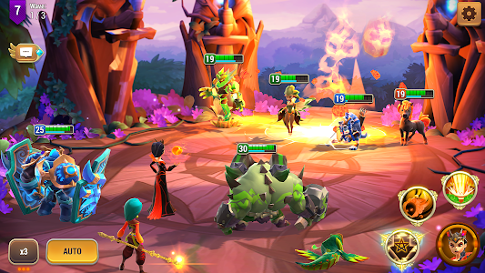 screenshot of Might & Magic: Elemental Guardians version 2.29
