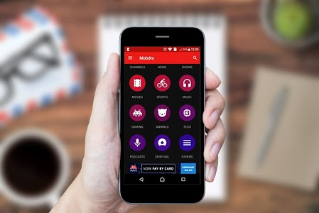 Download Mobdro Live Tv 1.0 APK