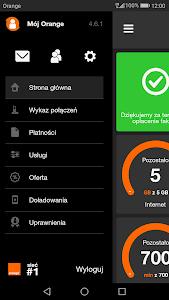 screenshot of Mój Orange version 4.7.1