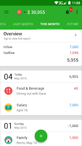 screenshot of Money Lover - Money Manager version Varies with device