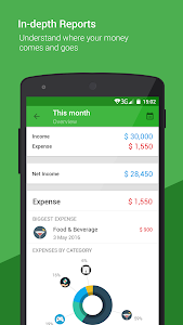 screenshot of Money Lover: Spending Tracker & Budget Planner version Varies with device