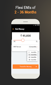 screenshot of Instant Personal Loan Up To ₹5 Lakhs - MoneyTap version 2.8.5