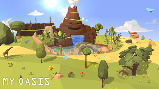 screenshot of My Oasis - Calming and Relaxing Incremental Game version 1.250