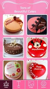screenshot of Name on Birthday Cake - Photo on Birthday Cake version 1.1