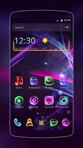 Download Neon Light Icon Packs (Theme) 1.1.12 APK