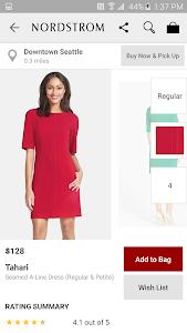 screenshot of Nordstrom - Fashion & Shopping version 1.0.11