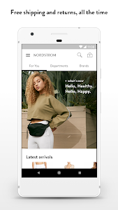 screenshot of Nordstrom version 3.32.0.127396