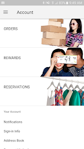 screenshot of Nordstrom - Fashion & Shopping version 3.0.0.4